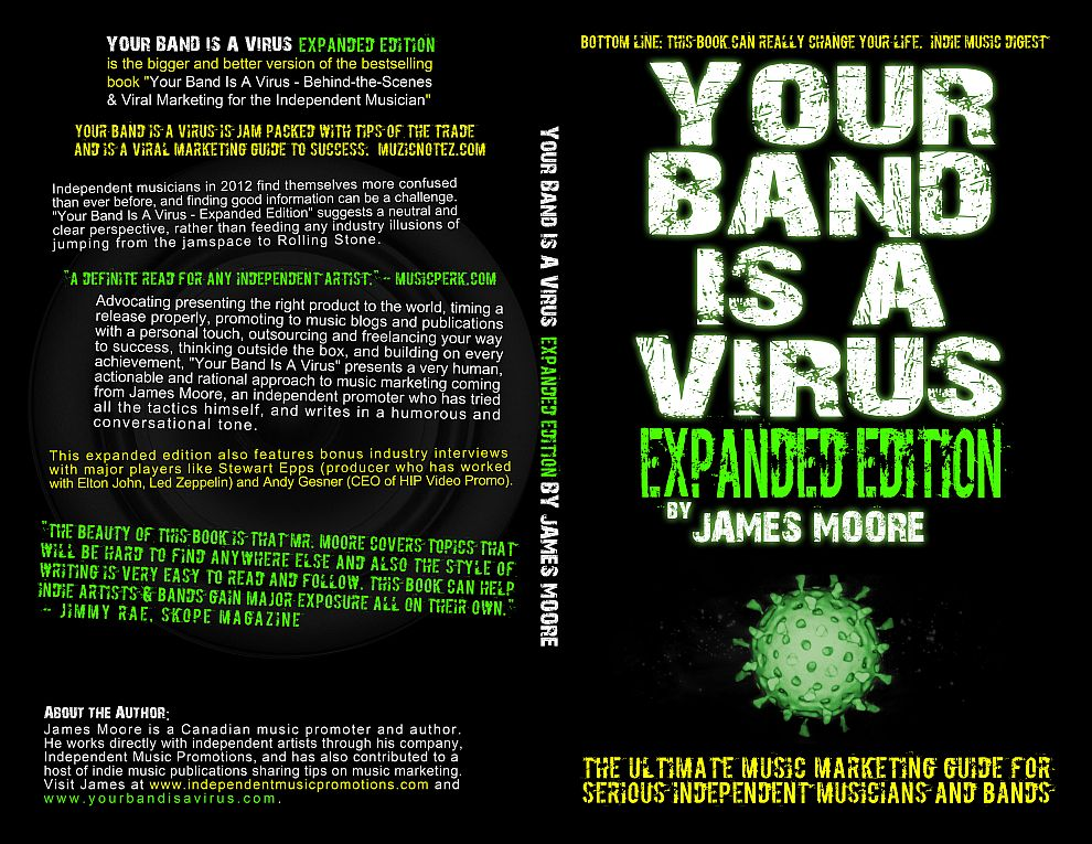 Your Band Is A Virus - Music Marketing Book