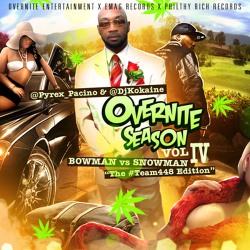Pyrex Pacino drops the impressive Overnite Season Vol IV
