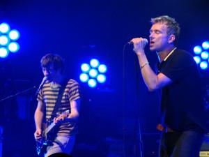 Blur_Newcastle_2009_Coxon_Albarn