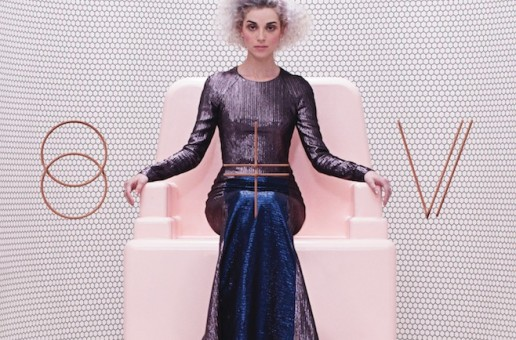 Annie Clark does the hustle and bustle on St. Vincent